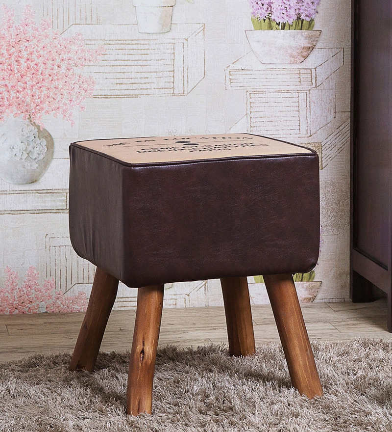 Fergie Stool in Brown Color by Bohemiana
