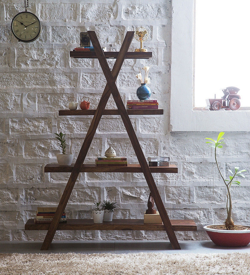 Fife Display Unit in Provincial Teak Finish by Woodsworth