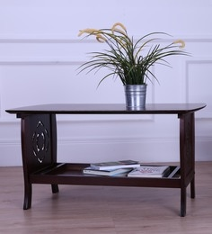 Floren Coffee Table In Light Cappuccino Finish - 1606790