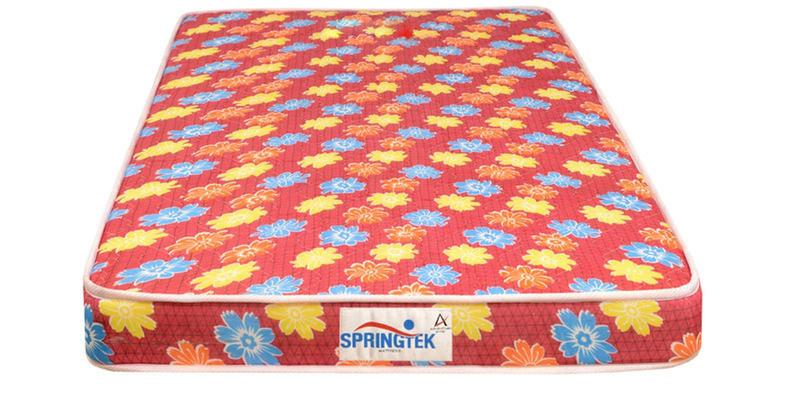 Flora King Size (78 x 72) 4 Inches Thick Back Support Eco Mattress (FREE Pillow) by Springtek Ortho Coir