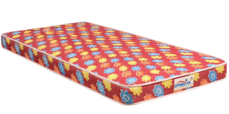 Flora Single Size (78 x 35) 4 Inches Thick Back Support Eco Mattress by Springtek Ortho Coir