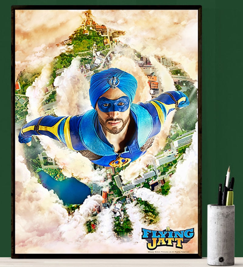 Flying Jatt Poster by Gingercrush