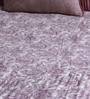 Purple Cotton Queen Size Duvet Cover by Floor & Furnishing