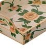 Fluke Design Company Multicolour MDF Vintage Rose Handpainted Tray