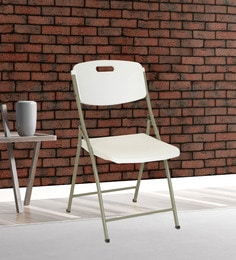 Folding Chair In White Colour