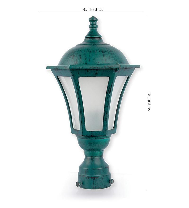 Buy Lighting Online: Buy Green Metal Outdoor Lighting By Fos Lighting Online