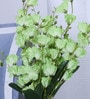 Green Artificial Gardenia Flower Bunch Set by Fourwalls