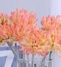 Fourwalls Multicolor Synthetic Artificial Chrysanthemum Stem - Set of 8