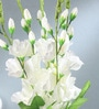 Multicolour Fabric Gladiolus Artificial Flower Bouquet by Fourwalls