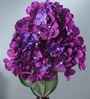 Multicolour Fabric Hydrangea Artificial Flower Bouquet by Fourwalls