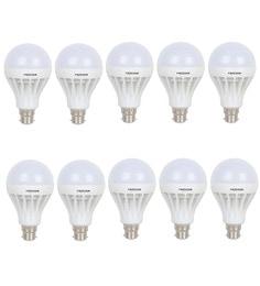 Frazzer White 18W Led Bulb (Set Of 10)
