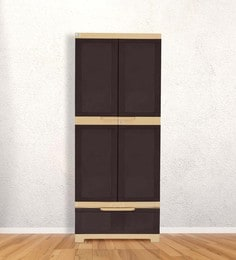 Freedom Multipurpose Cabinet With One Drawer In Brown & Biscuit Color - 1480044