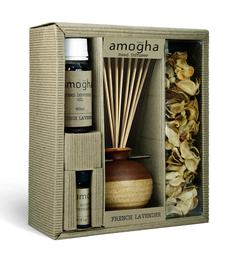 French Lavender Fragrance Gift Set With Diffuser