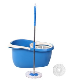 Frestol Blue Cleaning Mop With Plastic Filter