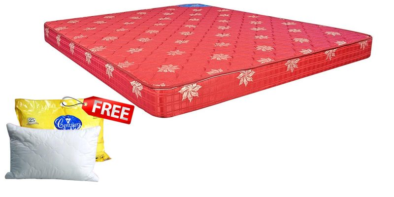 Jyothi 5 Inches Thick Coir Mattress by Centuary Mattress