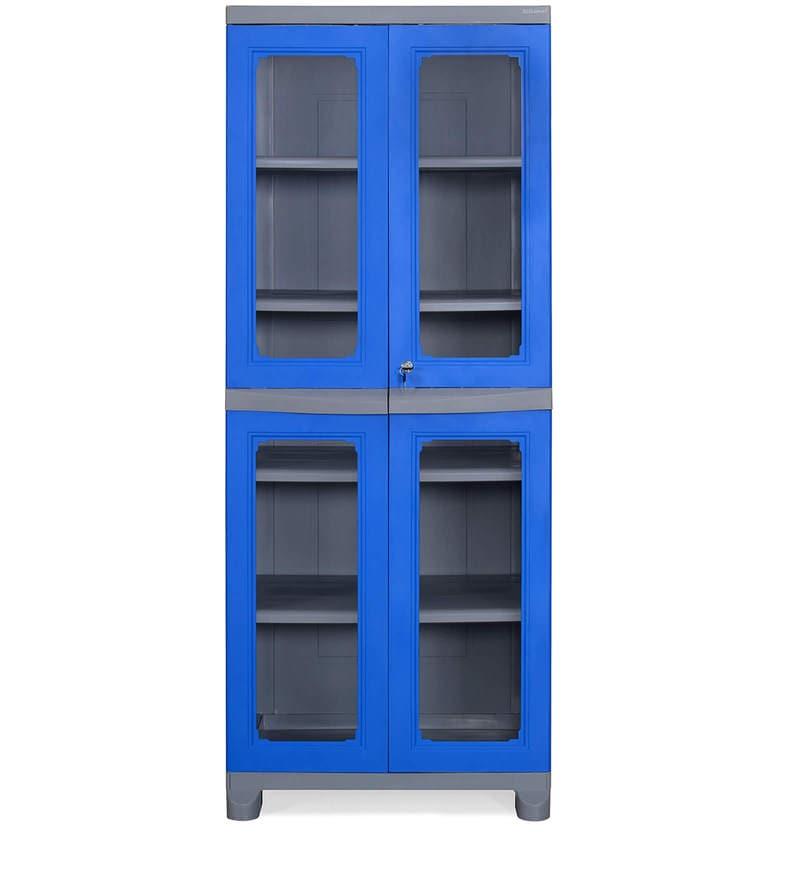 Buy Freedom Big 3 Fb 3 Storage Cabinet In Deep Blue