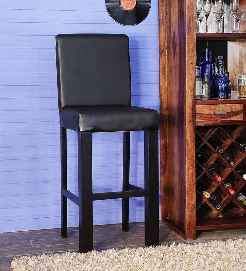 Freemont Bar Chair in Espresso Walnut Finish by Woodsworth