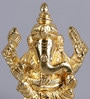 Frestol Golden Brass Ganesh