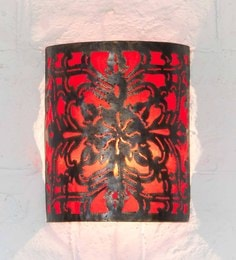 Furncoms Red Metal Wall Light - 1596683
