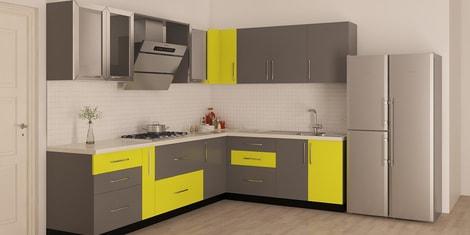 L Shaped Modular Kitchen Buy L Shaped Kitchen Design