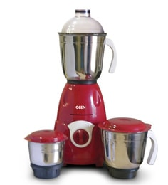Glen Gl 4027 600 Watt Red Mixer Grinder With Jars