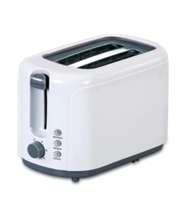 Glen GL 3019T Pop Up Toaster- White