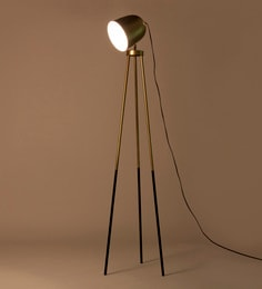 Gold Iron Rhea Floor Lamp