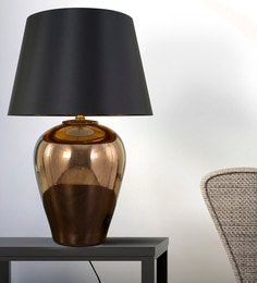 Gold Metal Megawatt Table Lamp