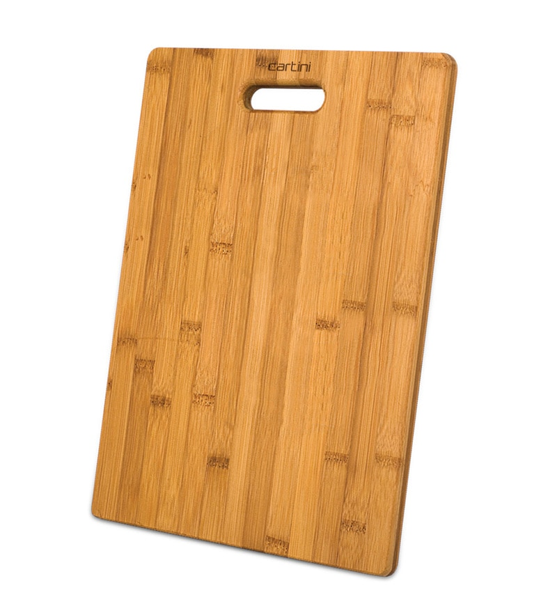 Godrej Cartini Brown Wooden Godrej Cartini Wooden Chopping Board