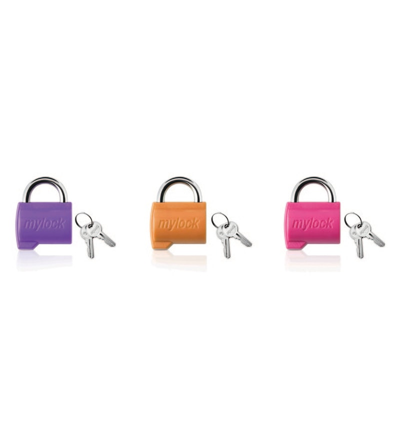 Godrej Security Solutions Alloy My Lock Candy - Set Of 3