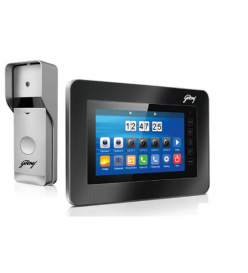 13a8f320067 Solus 7 inches screen with Speaker Video Door Phone by Godrej Security  Solutions
