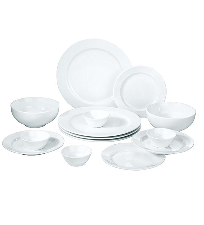 Bone China Dinner Set - Set of 14 by Godskitchen