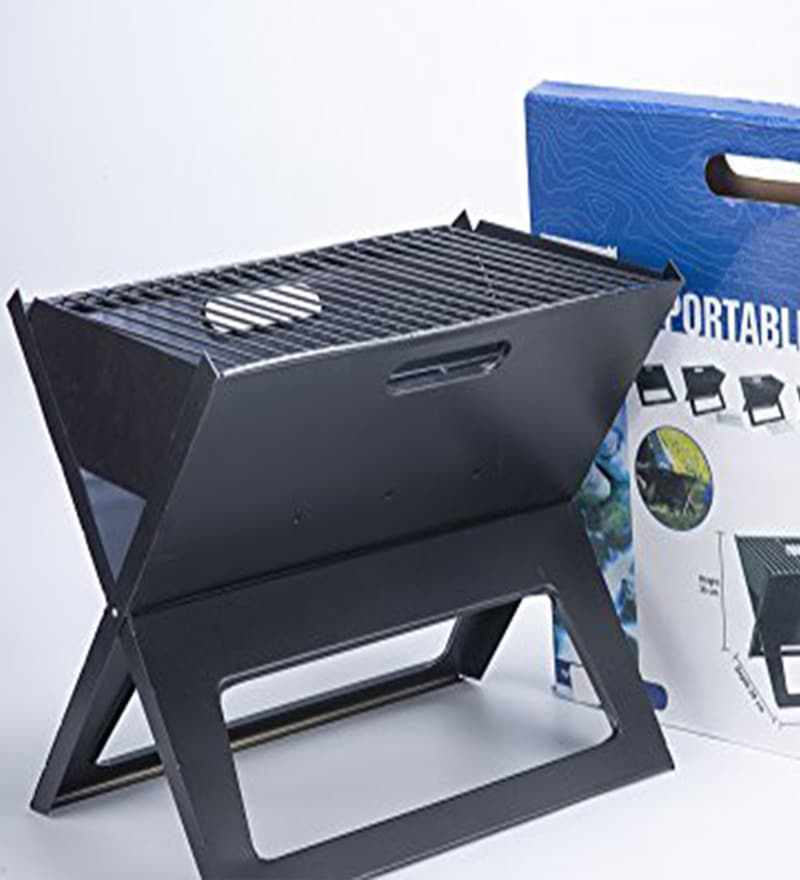 Godskitchen Notebook Portable Coal Barbeque