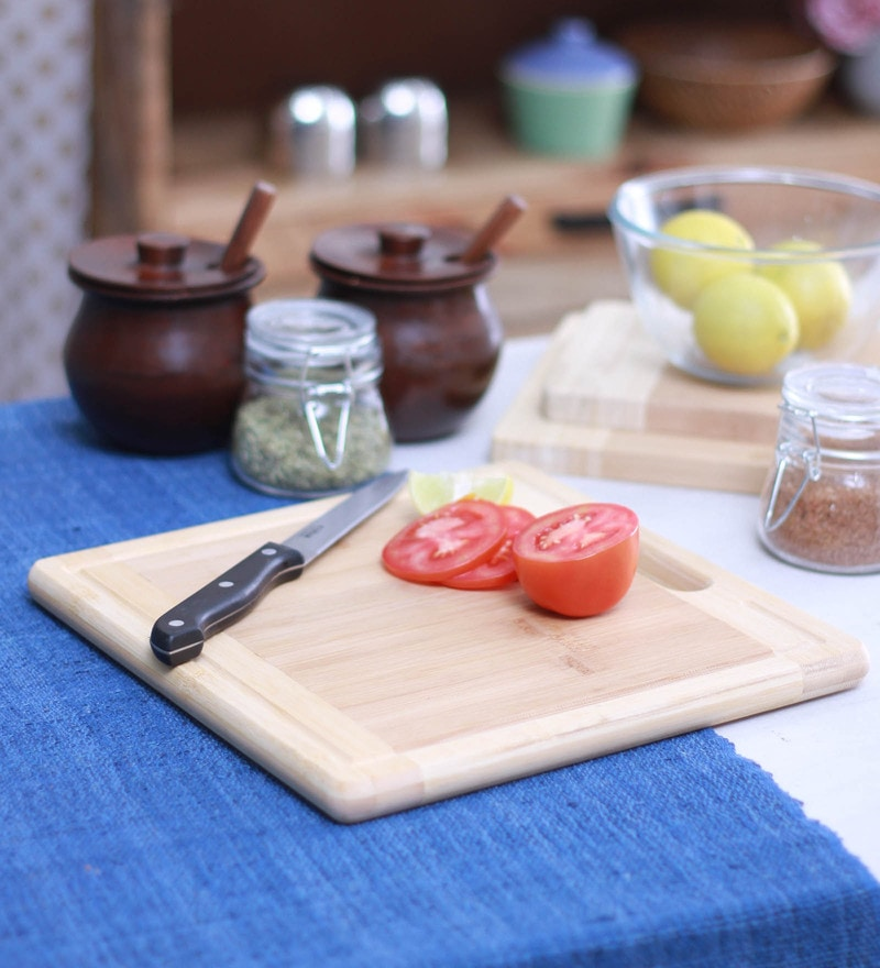 Godskitchen Square Hardwood Chopping Board