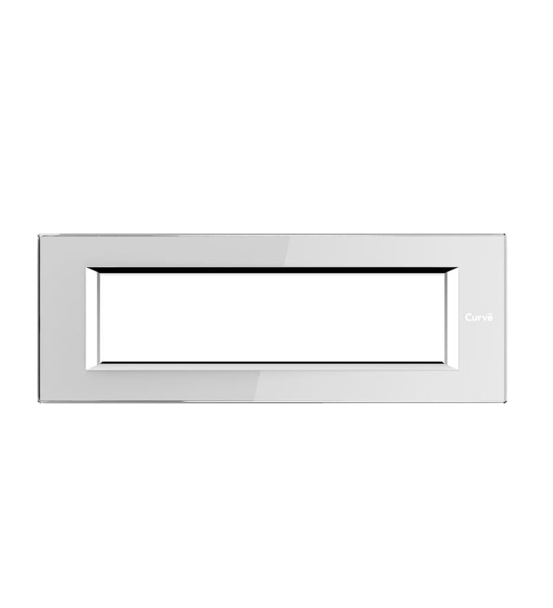 Goldmedal Quorra Premium Snow White Cover Plate (Model: 52801Psn.W)