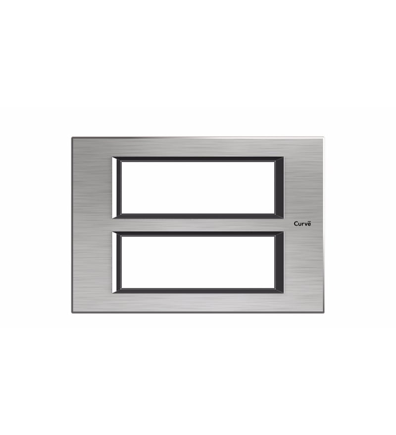 Goldmedal Quorra Xtreme Brushed Silver Cover Plate (Model: 51201Xb.Si)