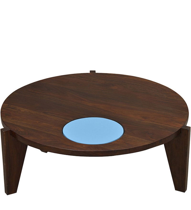 Gotham Center Table in Blue by @home