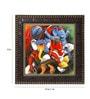 MDF 12 x 1 x 12 Inch Lord Ganpati Framed Art Print by Go Hooked