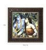 MDF 12 x 1 x 12 Inch Lord Krishnaa Framed Art Print by Go Hooked