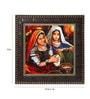 Go Hooked MDF 12 x 1 x 12 Inch Village Women Framed Art Print
