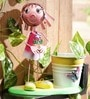 Mini Planter Girl with Flower by Go Hooked