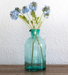 Flower Vases Buy Wooden Metal Flower Glass Vase Online