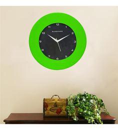 Green MDF 12 X 12 Inch Wall Clock