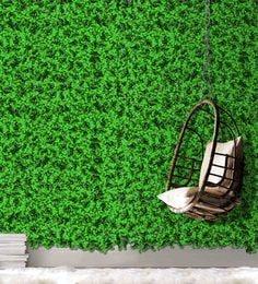 Green Plastic Artificial Gardening Mats ...