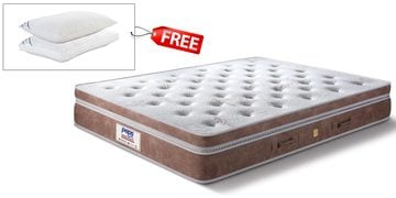Grand Palais Queen Size 10 Inch  Pocket Spring Pocket Spring Mattress
