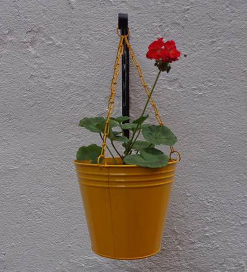 Gi Metal Hanging cone- Yellow by Green Gardenia