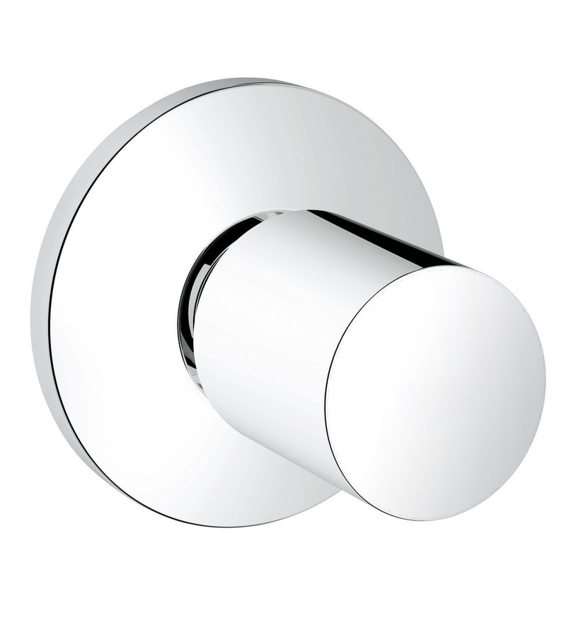 Grohe Baucosmopolitan Silver Brass Concealed Valve