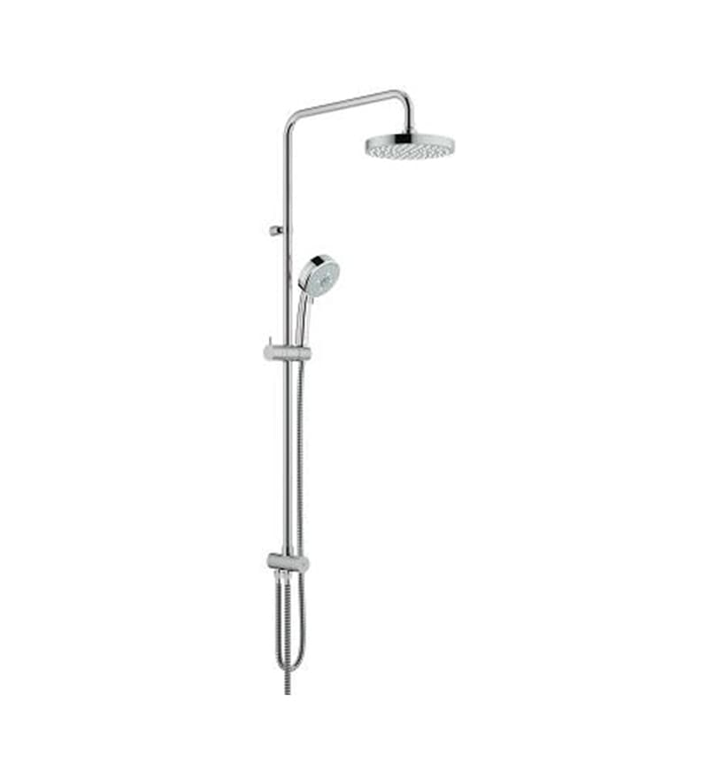 Grohe Ntempcosmopolitan Chrome Finish Brass 35.7 x 9.9 x 7.8 Inch Shower System with Diverter
