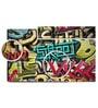 Hashtag Decor Graffiti Grunge Texture Engineered Wood Art Panel