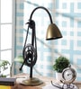 Gold Iron Table Lamp by Grated Ginger